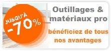 vente privée matériaux pro, vente privée outillage professionnel bâtiment moins cher